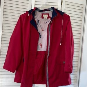 All Weather Hooded Coat Large